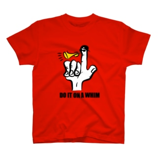 ON A WHIM Tシャツ