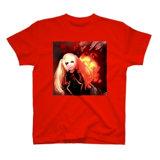 喰種的なキャラクター Tシャツ