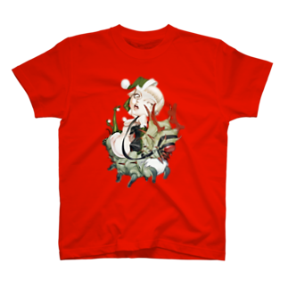 hassegawaのメリクリ芋虫 13cm Gnome Tシャツ