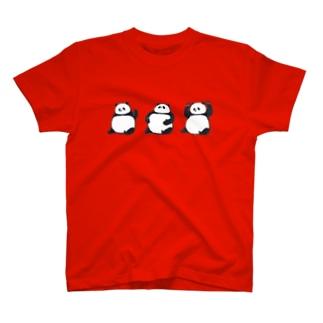 「コレがコレでコレなもんで」パンダ Tシャツ