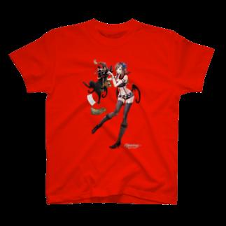 Wizardry Online 公式グッズのジュジュさん ~アルプスタイル~Tシャツ