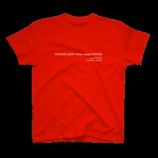 あひるせんせーのSyntactic structureTシャツ