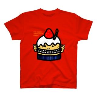 プレゼントケーキ Tシャツ
