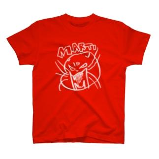怒りのマル濃い色用 Tシャツ