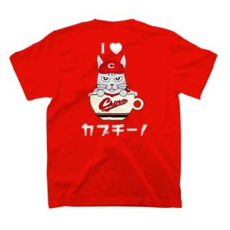 チノ坊やT(絵柄背面・赤) T-shirts