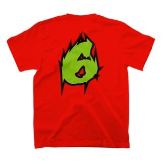 【ラグビー / Rugby】Flanker! #6!(番号入り) T-shirts