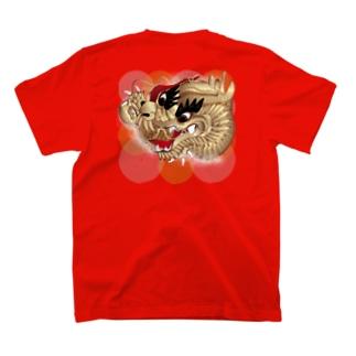 祭り刺繍 T-shirts