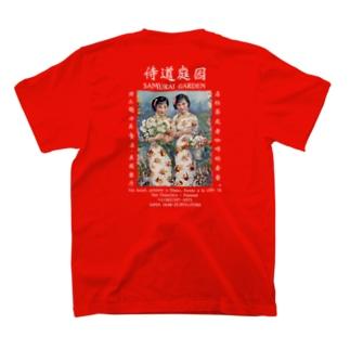1922復古POSTER本白文様 T-shirts