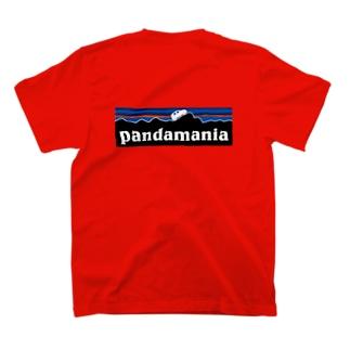 イタリアの車が好き3★パンダマニア(濃色系) T-shirts