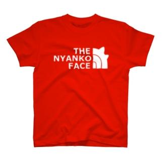 THE NYANKO FACE T-shirts