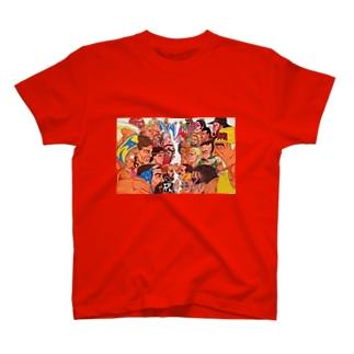 絶倫 T-shirts