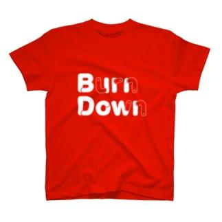 バーンダウン🐛 T-shirts