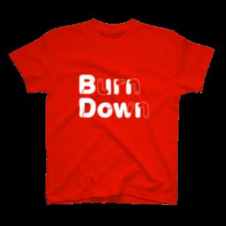 Double O のバーンダウン🐛 T-shirts