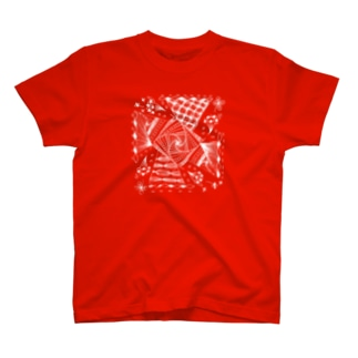 windmill -風車- (シャア専用バージョン・濃色ボディ用) T-shirts