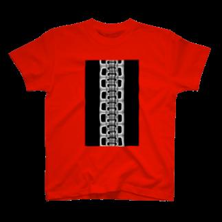 ameyoのzipper(大)black T-shirts
