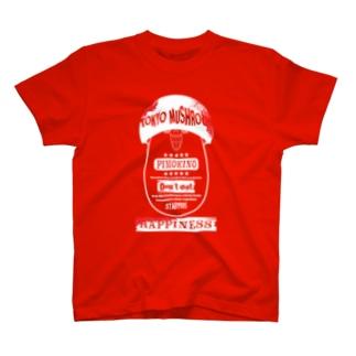 東京マッシュルーム(PIMOKINO) T-shirts