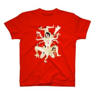 満開 T-shirts