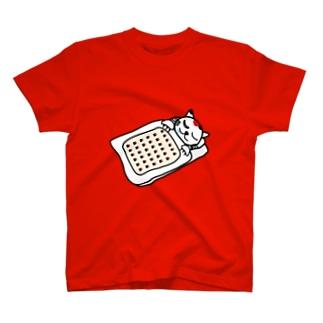 【前田デザイン室 ニャン-T プロジェクト】じゃみぃ、ねむたい・・・あかん・・・寝る T-shirts