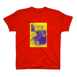 コーギーのリッチ T-shirts