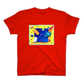 インターネットタケネコ T-shirts