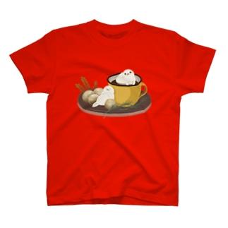アザラシとココア T-shirts