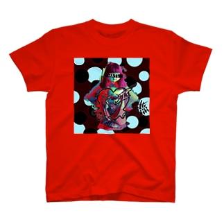 ラヴ&ヘイト(ダーク) T-shirts