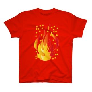 火の玉君 T-shirts