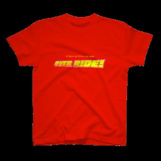 山口かつみのOVER RIDE! T-shirts
