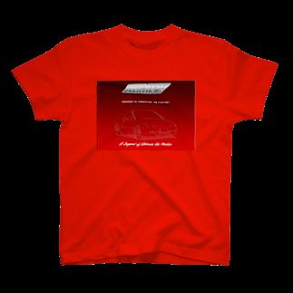 山口かつみのEG6  T-shirts
