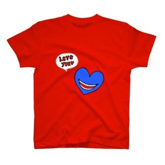 Love you Blue T-shirts
