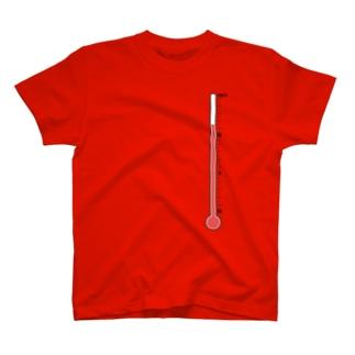 温度計・高温 T-shirts