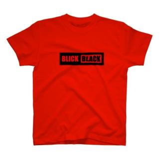 BLICK+BLACKバナー(プレートタイプ) T-shirts