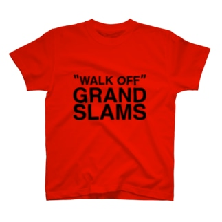 WALK OFF GRAND SLAMS -blk- T-shirts