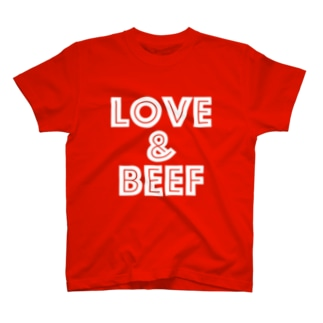 LOVE & BEEF T-shirts