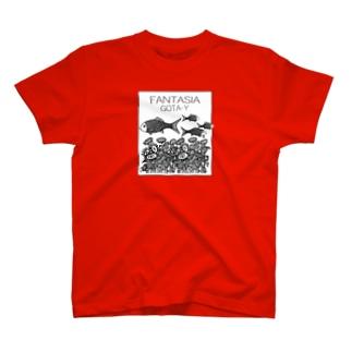 FANTASIA~ひまわり~  T-shirts