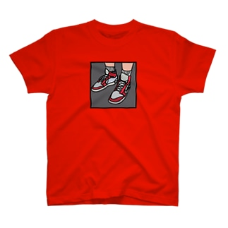 RED SHOES T-shirts
