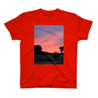 いつかのゆうやけ、いなかにて T-shirts