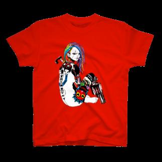 Studio MOONのマグナムガール T-shirts