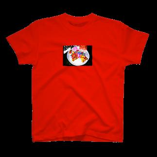 waimaiの異国の皿と果実 T-shirts