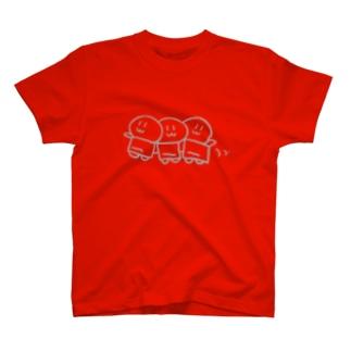 トロッコに乗って T-shirts