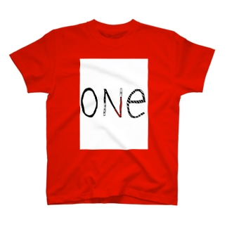 one シリーズ T-shirts