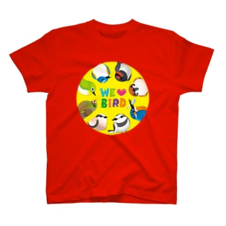 WE ♥ BIRD T-shirts