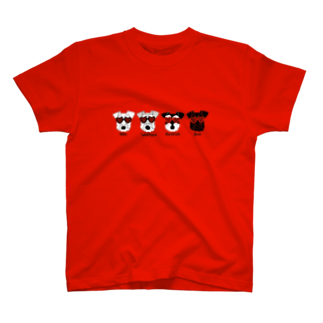 tsuchimikiのクアトロシュナーズ T-shirts