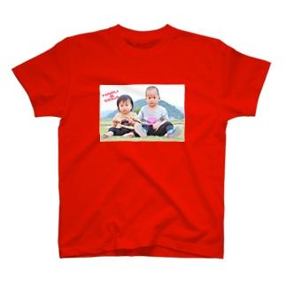 はるくんとせなちゃん T-shirts