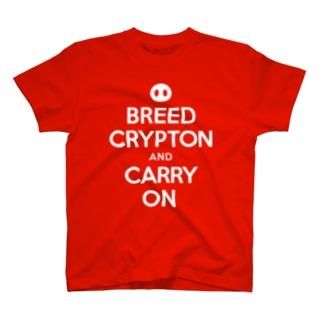 くりぷ豚 標語 T-shirts