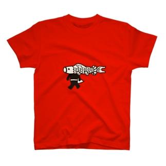 【期間限定】ジャンボこいのぼりマン T-shirts
