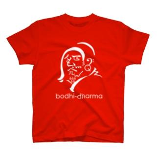 【bodhidharma】ver.朱達磨 T-shirts