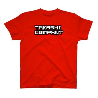 TakashiCompanyロゴ T-shirts