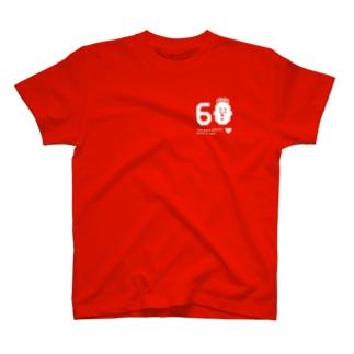 TOM 60th ANNIVERSARY T-shirts