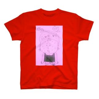 汗だくおばちゃんシリーズ。 T-shirts